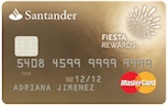 tarjeta fiesta rewards oro santander