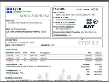 Factura-CDFI