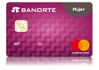Tarjeta de crédito mujer Banorte